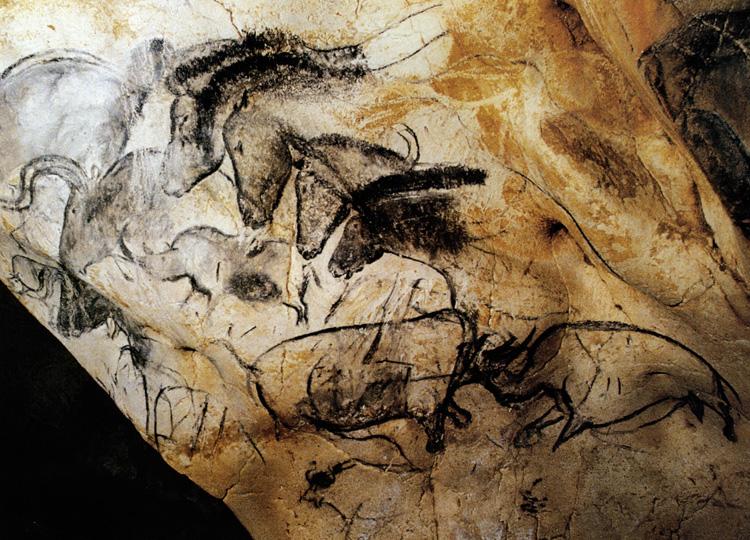 160128 Chauvet Cave horsesphoto2b