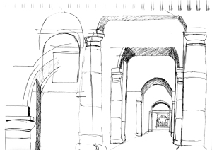 160211 National Gallery sketch 05 arches for web