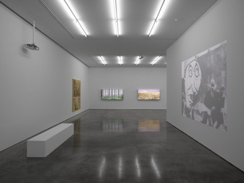 160301 History of Nothing at White Cube Bermondsey gen view