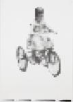 Freewheeling, June 2016: graphite on paper; 60cm x 40cm