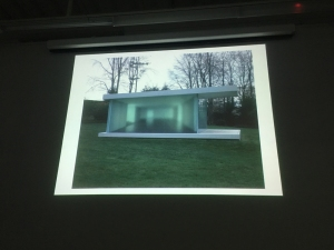 a building created by photographs